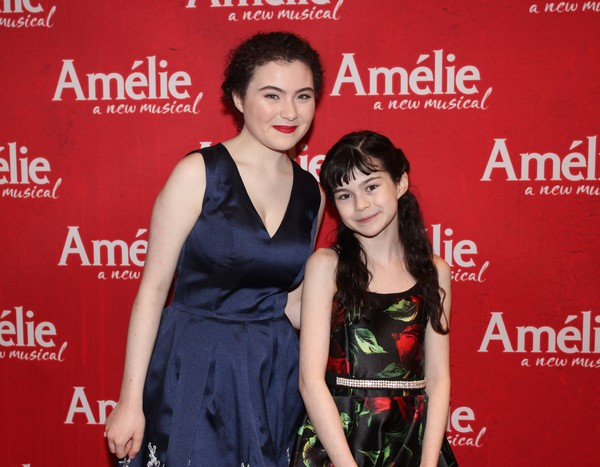 Lilla Crawford and Savvy Crawford