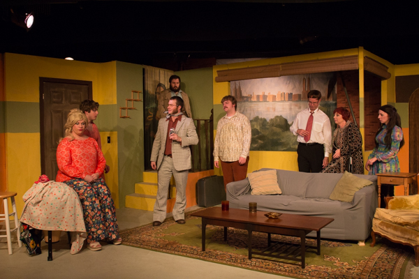 Photo Coverage: Inside the Little Theatre Off Broadway's LOVE, SEX AND THE I.R.S.