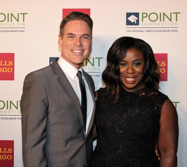 Jorge Valencia and Uzo Aduba