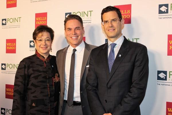 Claudia Caine, Jorge Valencia and Jim Cummings