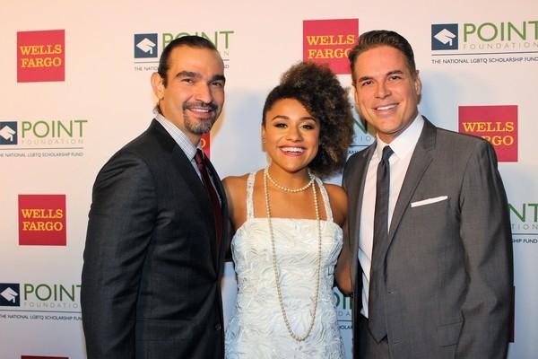 Javier Munoz, Jorge Valencia and Adriana DeBose