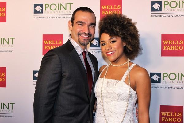 Javier Munoz and Adriana DeBose