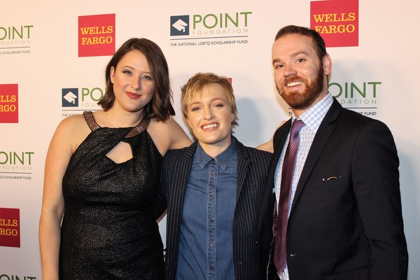 Emma Willmann and guests