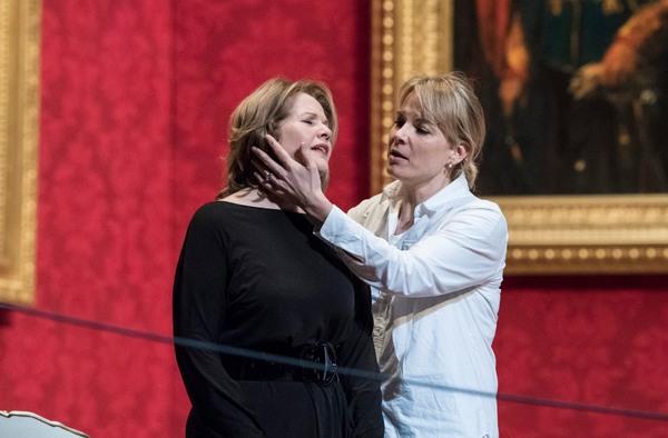 Renée Fleming and Elina Garanca