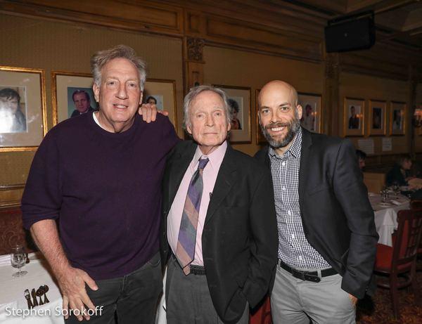 Alan Zweibel, Dick Cavett, Pete Dominick Photo