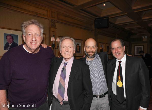 Alan Zweibel, Dick Cavett, Pete Dominick, Bob Spiotto