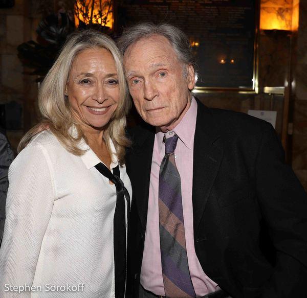 Eda Sorokoff & Dick Cavett Photo