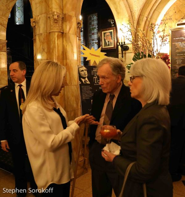Photo Coverage: Dick Cavett Talking About Talk Shows At The Friars Club