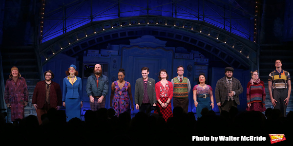 Tony Sheldon, Randy Blair, Alison Cimmet, Paul Whitty, Harriett D. Foy, Adam Chanler-Berat, Phillipa Soo, Manoel Felciano, Maria-Christina Oliveras, Alyse Alan Louis, Heath Calvert