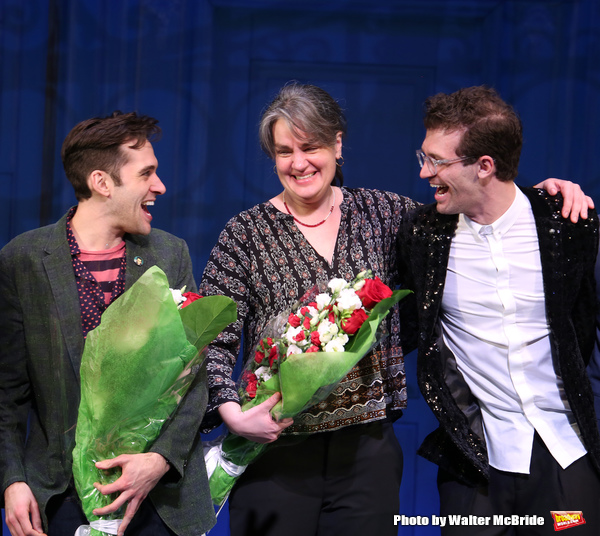 Adam Chanler-Berat, Pam MacKinnon and Sam Pinkleton
