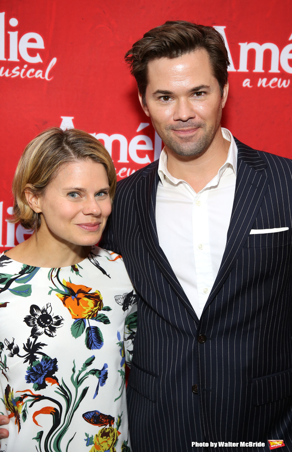 Celia Keenan Bolger and Andrew Rannells