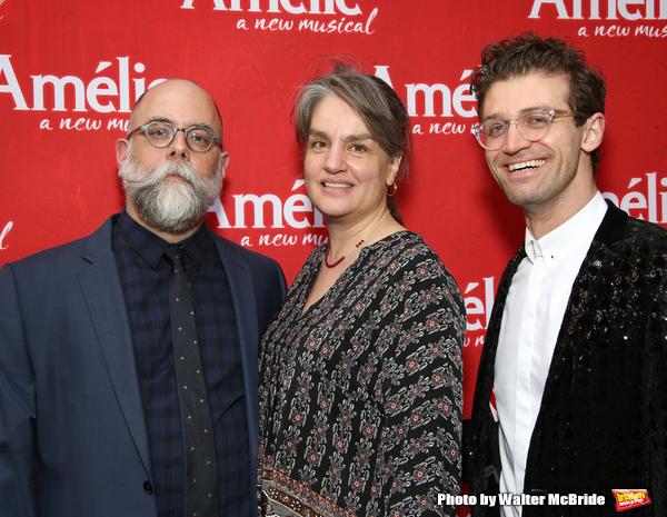 David Zinn, Pam MacKinnon and Sam Pinkleton  Photo
