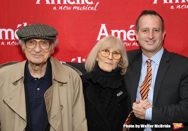 Sheldon Harnick, Margery Harnick and Aaron Harnick Photo