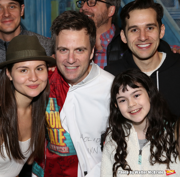 Phillipa Soo, Manoel Felciano, Adam Chanler-Berat and Savvy Crawford