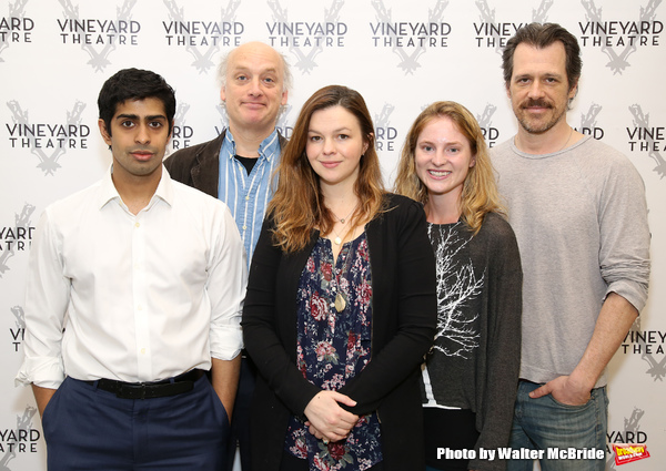 Eshan Bay, Frank Wood, Amber Tamblyn, Ella Dershowitz, and Darren Pettie