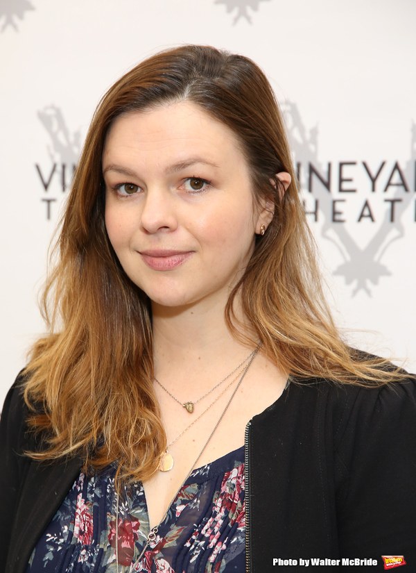 Photo Coverage Amber Tamblyn Amp Cast Of Vineyard Theatre S