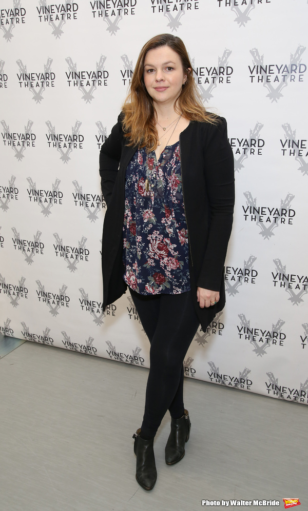 Photo Coverage: Amber Tamblyn & Cast of Vineyard Theatre's CAN YOU FORGIVE HER? Meet the Press