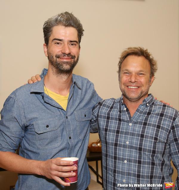 Hamish Linklater and Norbert Leo Butz