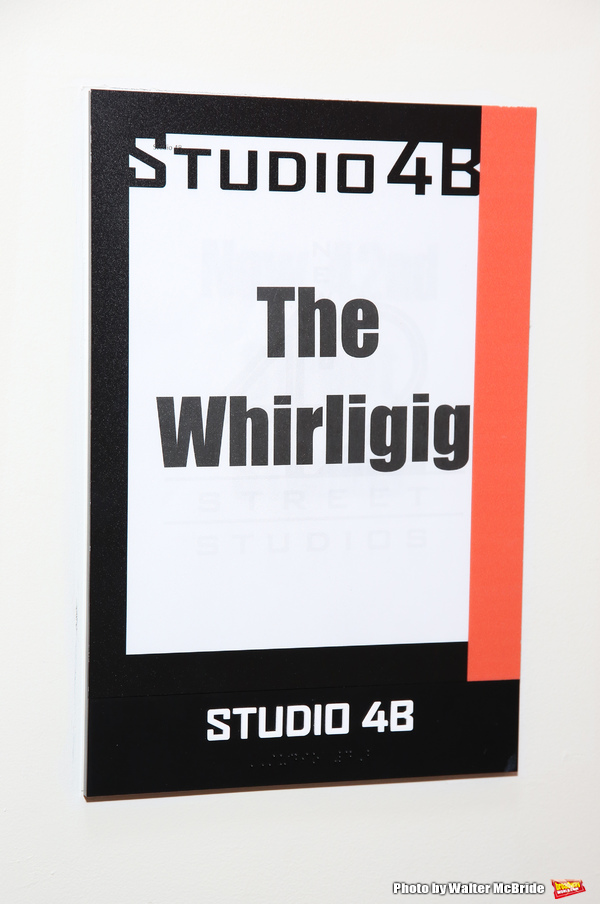 The New Group's World Premiere of Hamish Linklater's 'The Whirligig'  at the New 42nd Street Studios on April 3, 2017 in New York City.