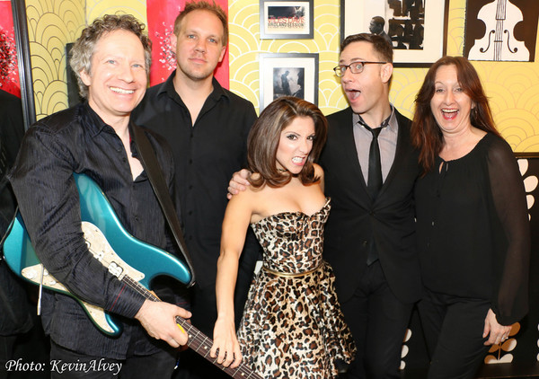 Chris Biesterfeldt, Joe Choroszewski, Christina BIanco, Brian Nasha and Maryann McSwe Photo