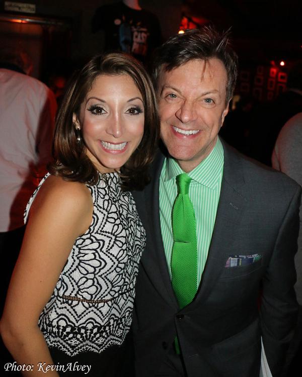 Christina Bianco and Jim Caruso