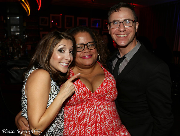Christina Bianco, Natalie Douglas and Brian Nash