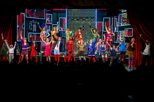 Photo Coverage: KINKY BOOTS Celebrates Four, Fabulous Years on Broadway!