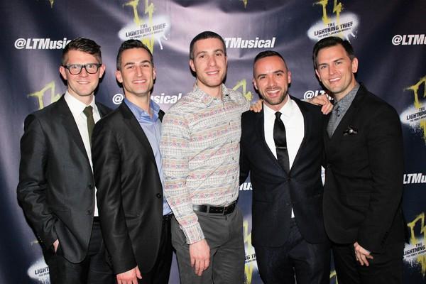 Rob Eggleston, Joey Dudding, Ben Gettinger, Patrick McCollum and Daniel Reichard Photo