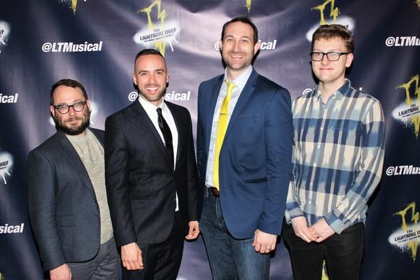 Stephen Brackett, Patrick McCollum, Rob Rokicki and Wiley Deweese