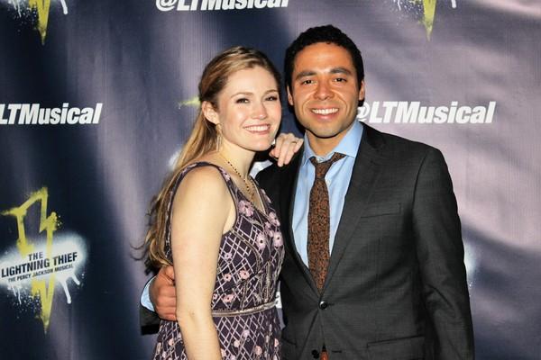 Kristin Stokes and Jonathan David