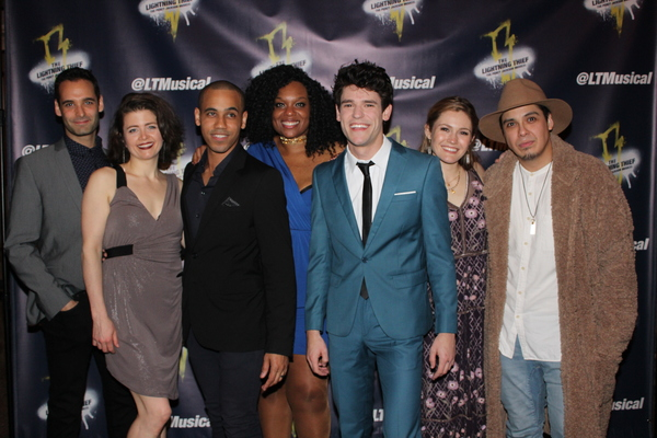 Jonathan Raviv, Sarah Beth Pfeifer, James Hayden Rodriguez, Carrie Compere, Chris McCarrell, Kristin Stokes and George Salazar