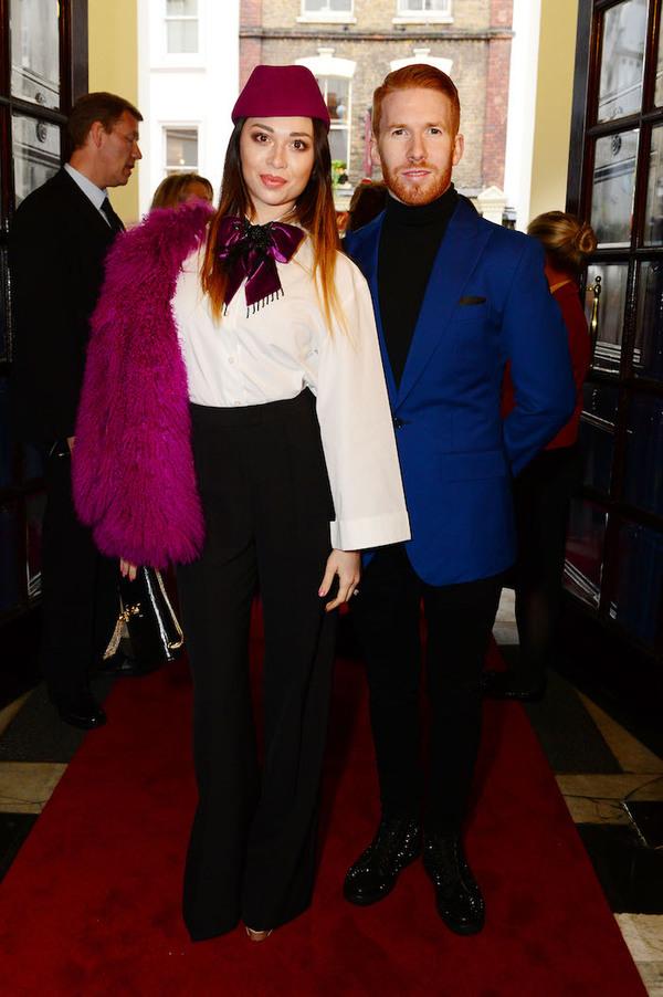 Katya Jones and Neil Jones Photo