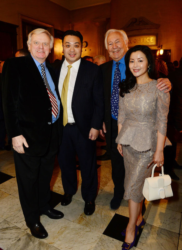 Michael Grade, Dr Johnny Hon and  Michael Linnit