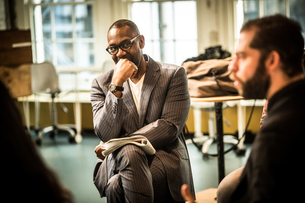 Photos: In Rehearsals for THE RESISTIBLE RISE OF ARTURO UI at Donmar Warehouse