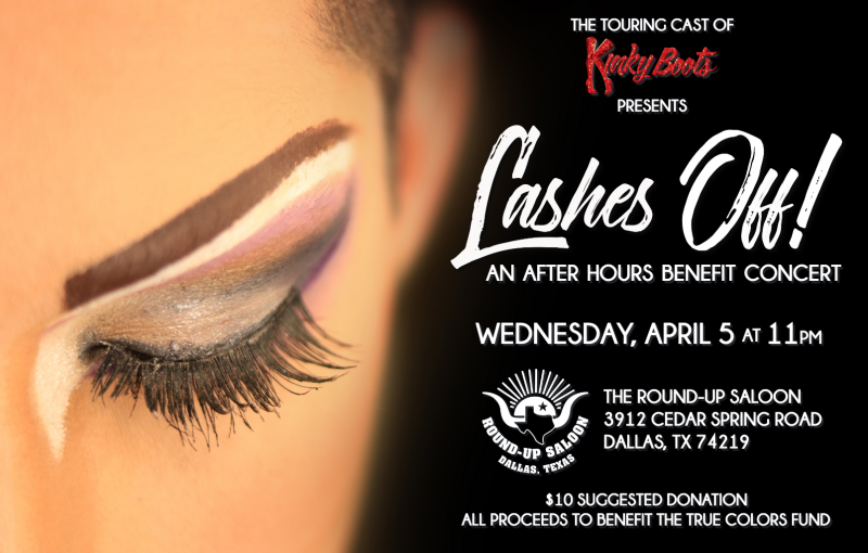 BWW Previews: Talent Announced for LASHES OFF: AN AFTER-HOURS BENEFIT CONCERT at Round Up Saloon