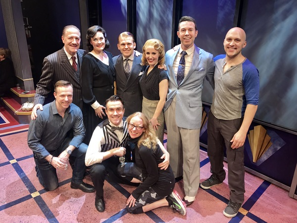 Photo Flash: CAGNEY, THE MUSICAL Company Toasts to One Year Off-Broadway