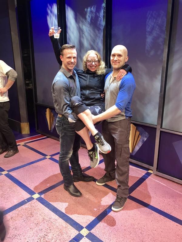 Tim Falter, Karen Hyland and Freddie Kimmel Photo