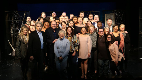Dean Emeritus of the Actors Studio Drama School and host of Inside the Actors Studio, James Lipton along with Estelle Parsons of the Actors Studio join the students, faculty and administration of the Actors Studio Drama School at the opening night of