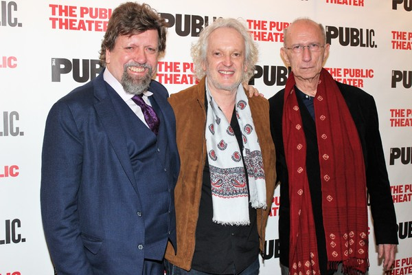 Oskar Eustis, Sean Mathias and Martin Sherman