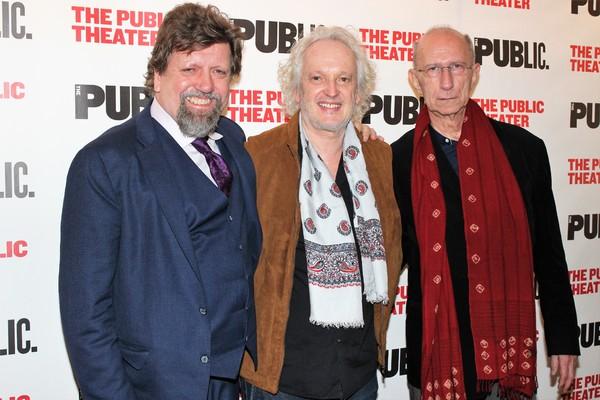 Oskar Eustis, Sean Mathias and Martin Sherman