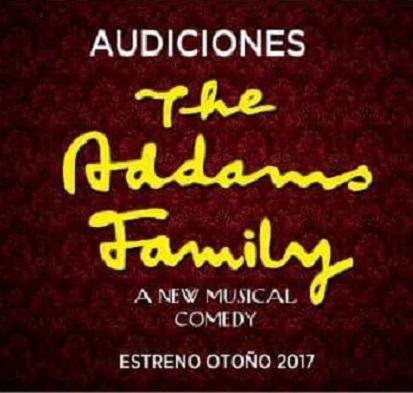 Audiciones para la producción española del musical LA FAMILIA ADDAMS