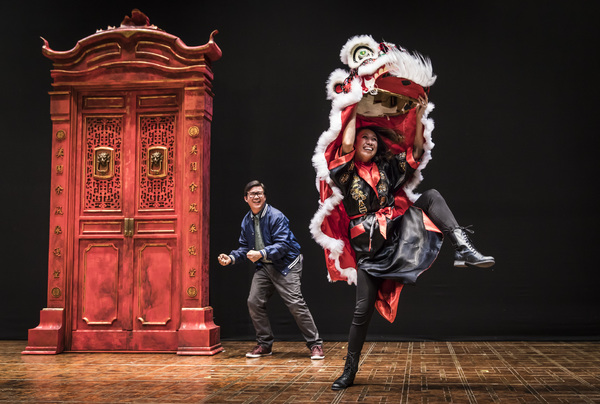 Rammel Chan and Angela Lin