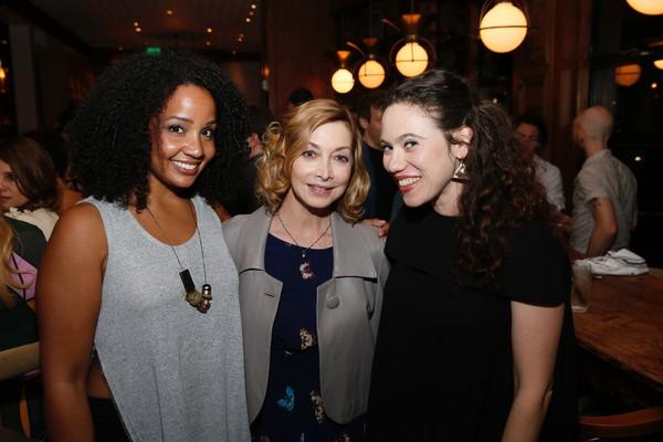 Stephanie Umoh, Sharon Lawrence and Bonne Kramer