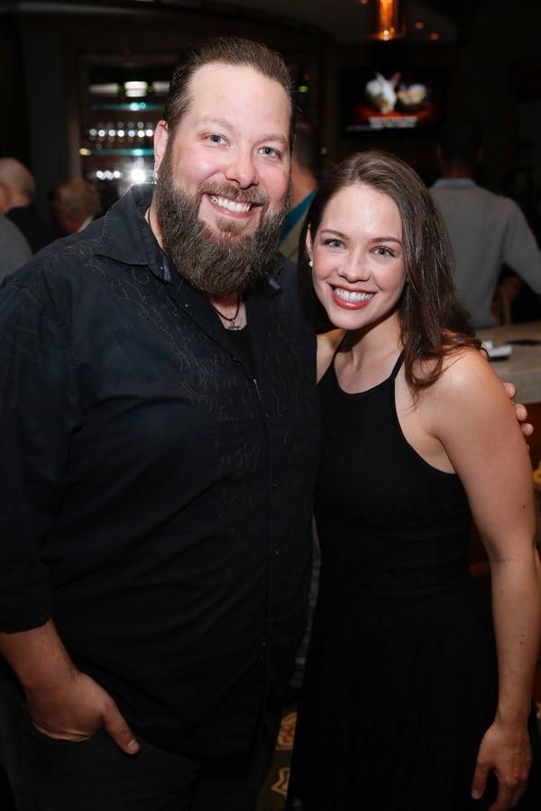 Evan Harrington and Laurie Veldheer