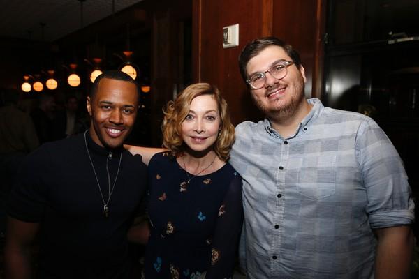 Anthony Chatmon II, Sharon Lawrence and Evan Rees