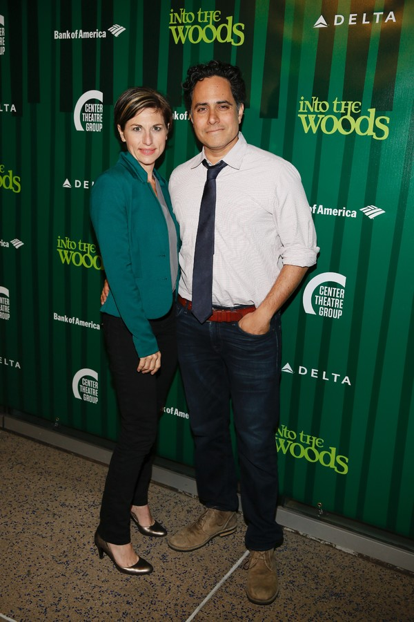 Photo Flash: Christina Hendricks, Sharon Lawrence, Jesse Tyler Ferguson and More Attend Fiasco's INTO THE WOODS Opening at the Ahmanson