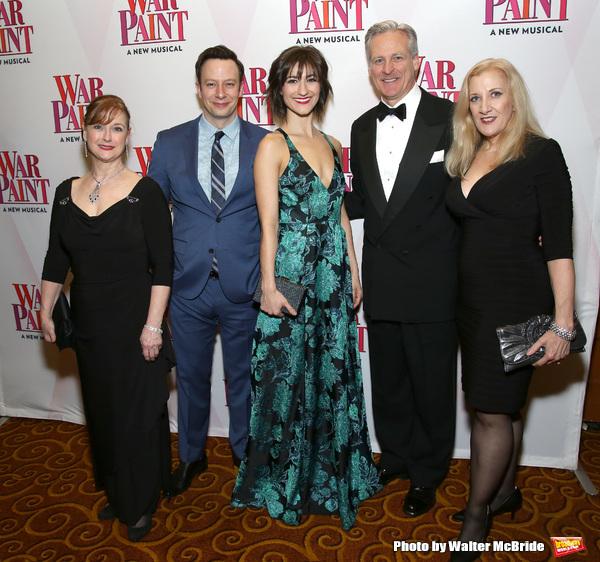 Patti Cohenour, Tally Sessions, Barbara Jo Bednarczuk, Tom Galantich and Donna Migliaccio