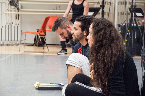 John Alix, Luis Salgado, and Valeria Cossu