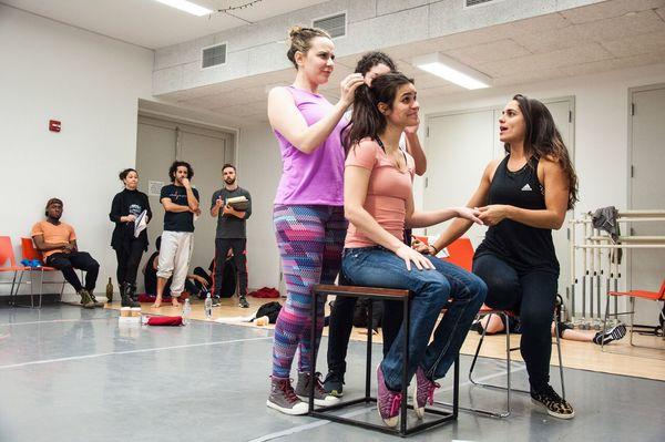 Scheherazade Quiroga, Gabriella Perez,  Laura Lebron, and Veronica Alvarez Robles