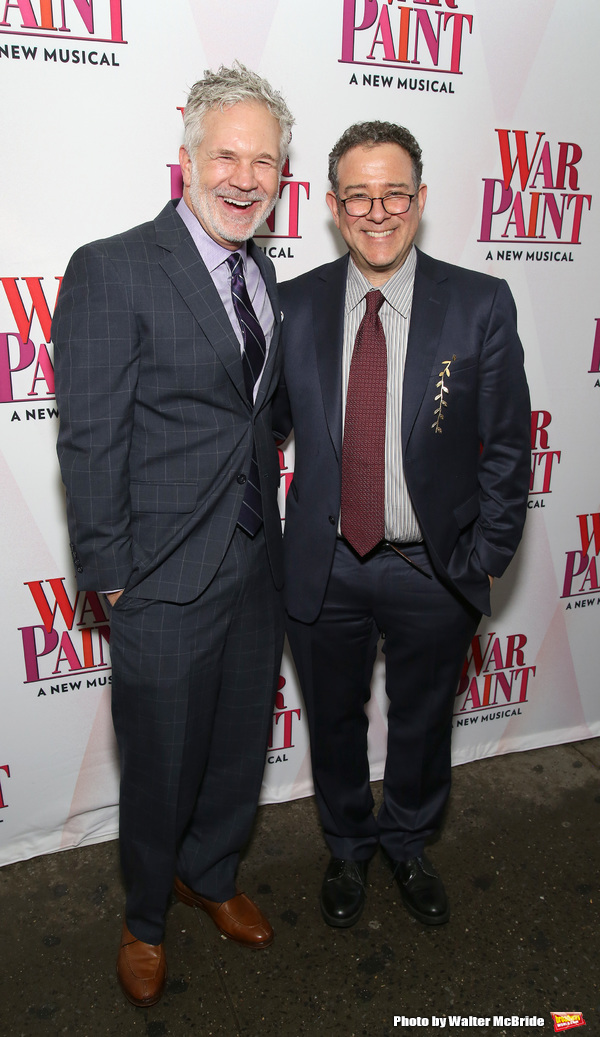 Gerald McCullouch and Michael Greif  Photo
